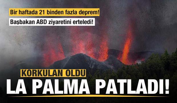 La Palma patladı! Bir haftada 21 bin deprem meydana geldi!