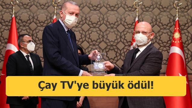 Çay TV'ye büyük ödül!
