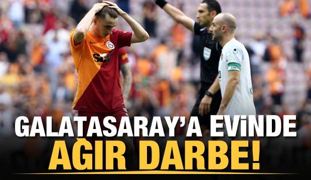 Galatasaray'a evinde Alanya darbesi!