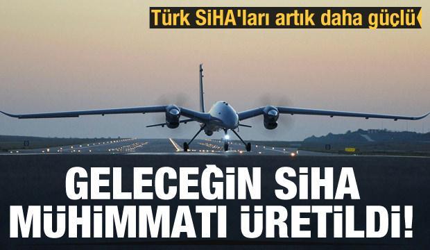 Geleceğin SİHA mühimmatı üretildi! Türk SİHA'ları artık daha güçlü