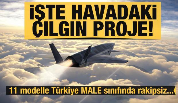İşte Türkiye'nin İHA ve SİHA ordusu! (Türkiye'nin havadaki çılgın projesi)