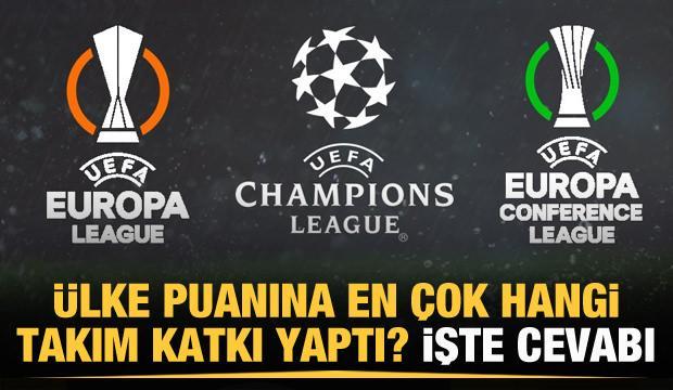 İşte UEFA ülke puanına en çok katkı yapan takımlar!