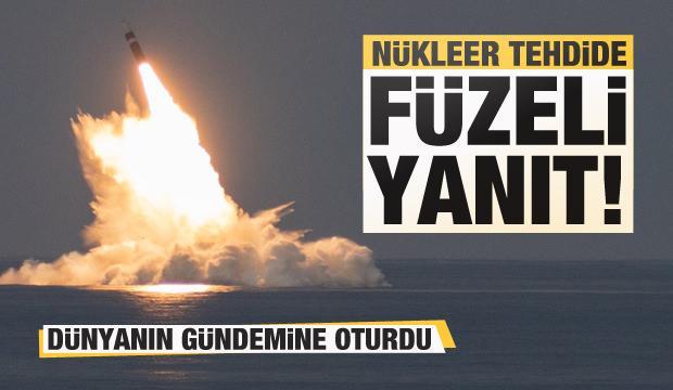 Nükleer tehdide füzeli yanıt!
