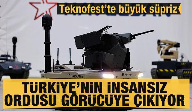 Türkiye'nin insansız ordusu görücüye çıkıyor