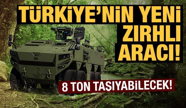 Türkiye'nin yeni zırhlı aracı Altuğ 8x8 göreve hazırlanıyor!