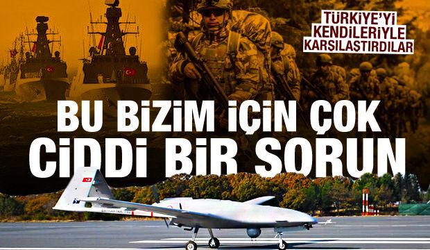 Yunan araştırma merkezi, Türkiye ile Yunanistan'ın askeri güçlerini karşılaştırdı