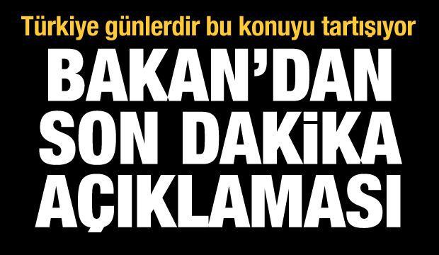 Bakan Kasapoğlu'ndan son dakika yurt açıklaması