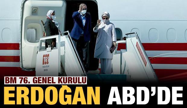 Başkan Erdoğan ABD'de!
