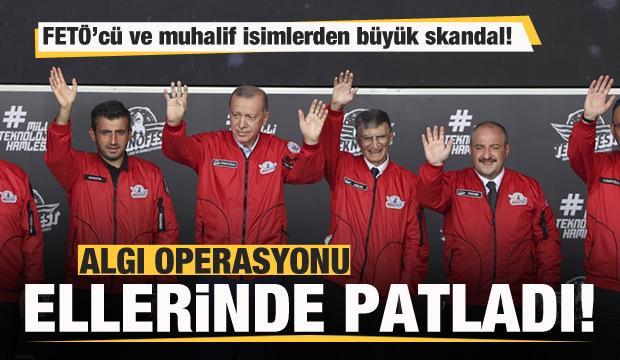 'Başkan Erdoğan, Aziz Sancar'ın elini aşağıya indirdi' yalanı