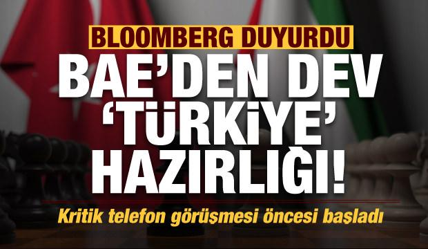 Son dakika haberi: Bloomberg duyurdu! BAE'den dev Türkiye hamlesi