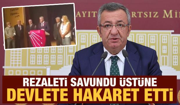 CHP'li Engin Altay rezaleti savundu üstüne devlete hakaret etti
