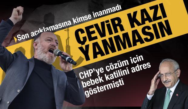 CHP'ye çözümün adresi olarak bebek katilini göstermişti! HDP'li Temelli geri adım attı
