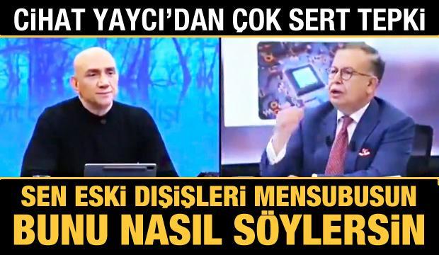 Cihat Yaycı'dan CHP'li Çeviköz'e 'Mavi Vatan' tepkisi