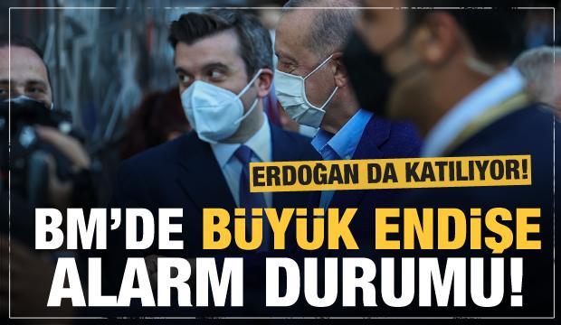 Cumhurbaşkanı Erdoğan da katılıyor! BM'de koronavirüs alarmı