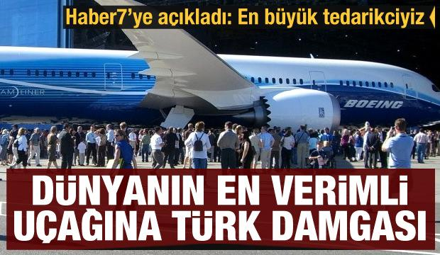 Dünyanın en verimli uçağına Türk damgası: En büyük tedarikçi TEI