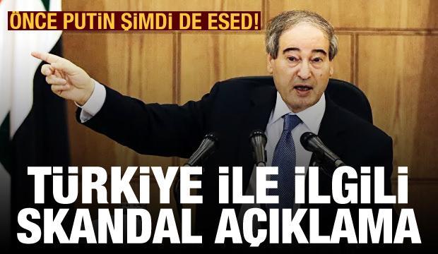 Esed rejiminden skandal Türkiye açıklaması