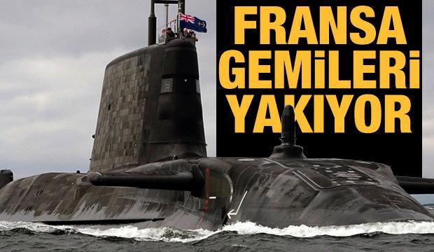 Fransa gemileri yakıyor - 21 Eylül günün gazete manşetleri