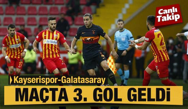 Kayserispor - Galatasaray! CANLI