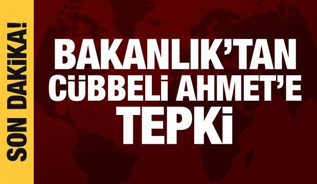 Milli Eğitim Bakanlığından Cübbeli Ahmet'e tepki: Açıklamalarını düzelt