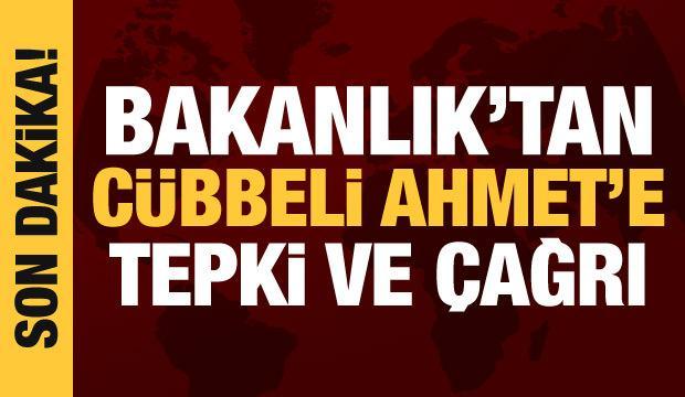 Milli Eğitim Bakanlığı'ndan Cübbeli Ahmet'e tepki: Açıklamalarını düzelt