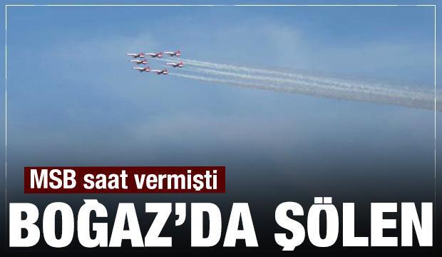 MSB saat verdi! İstanbul'da gözünüz gökyüzünde olsun!