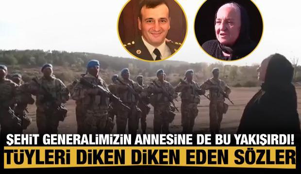 Şehit general Polat Haşimov'un annesinden Özel Kuvvetlere duygulandıran sözler