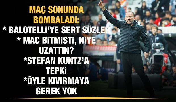 Sergen Yalçın'dan Balotelli sözleri: Seviyesini belli etti!