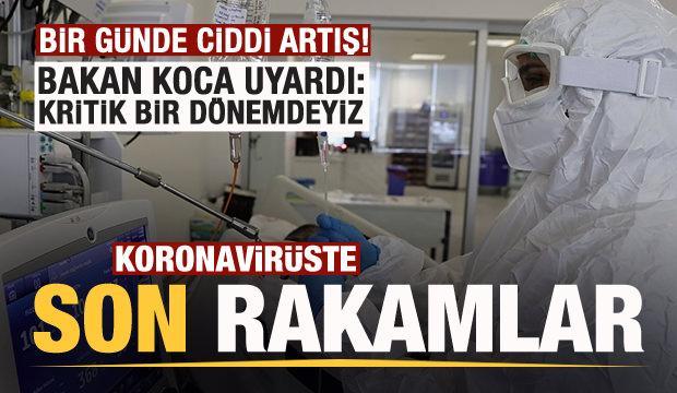 Son dakika: 21 Eylül koronavirüs tablosu açıklandı!