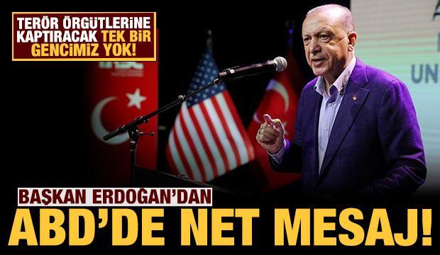 Son dakika: Cumhurbaşkanı Erdoğan: Terör örgütlerine kaptıracak tek bir gencimiz yok