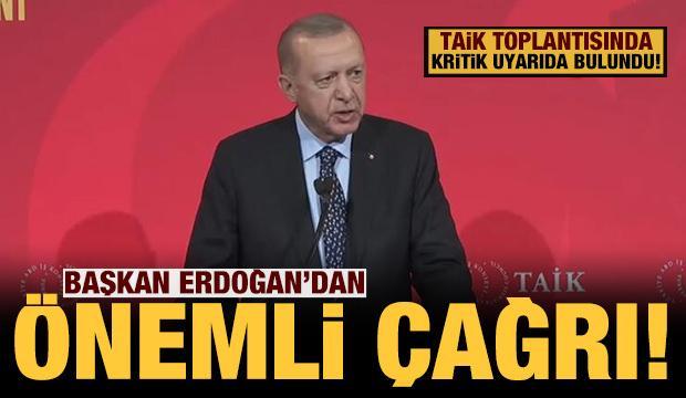 Son dakika: Cumhurbaşkanı Erdoğan'dan ABD'de önemli çağrı!