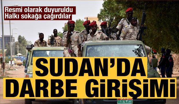 Son dakika gelişmesi: Sudan'da başarısız darbe girişimi