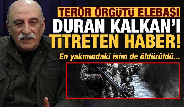 Son dakika: PKK elabaşı Duran Kalkan'ı titreten haber! Mazlum Mat ve Büşra Kaya öldürüldü!