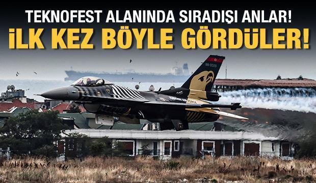 Teknofest İstanbul ikinci gününde! SOLOTÜRK'ten muhteşem şov...