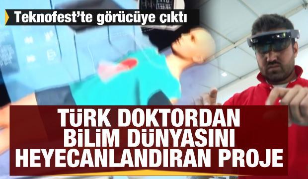 Türk doktordan bilim dünyasını heyecanlandıran proje: Holocheck