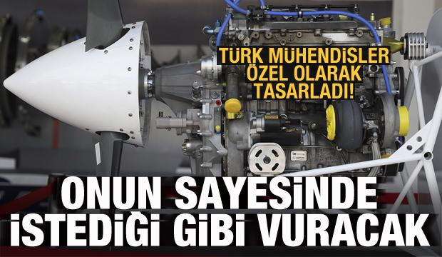Türk mühendisleri özel olarak tasarladı! Sayesinde istediği gibi vuracak!