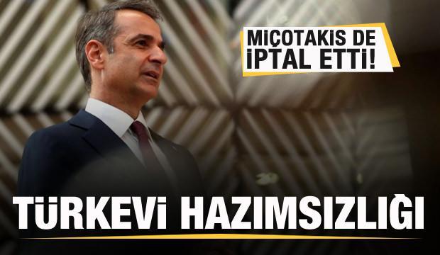 Türkevi hazımsızlığı! Miçotakis de iptal etti