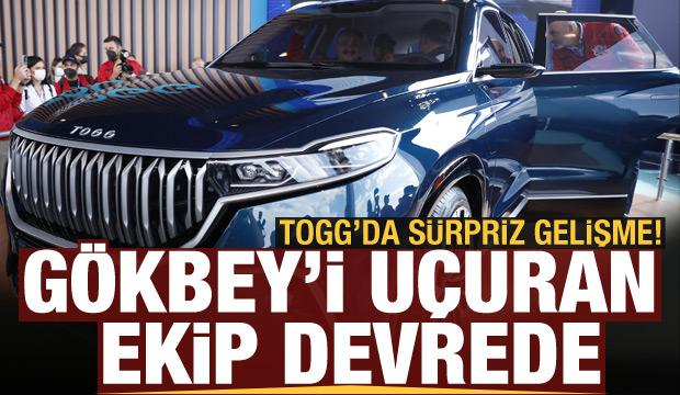 Yerli otomobil TOGG'da sürpriz gelişme: Gökbey'i uçuran ekip devrede