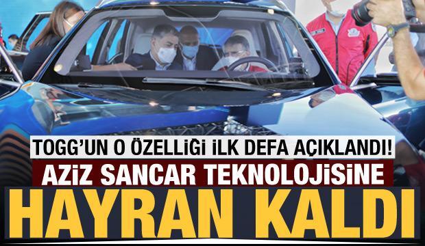 Aziz Sancar, yerli otomobil TOGG'un direksiyonuna geçti!