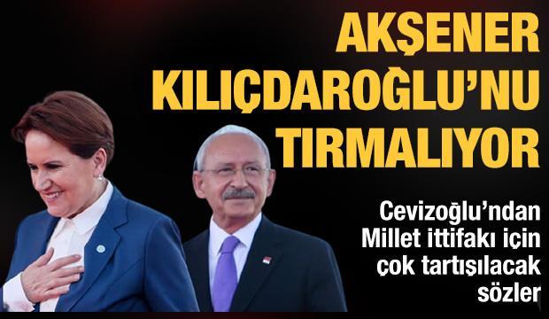 Cevizoğlu: Akşener, sürekli ortağı Kılıçdaroğlu'nu tırmalıyor
