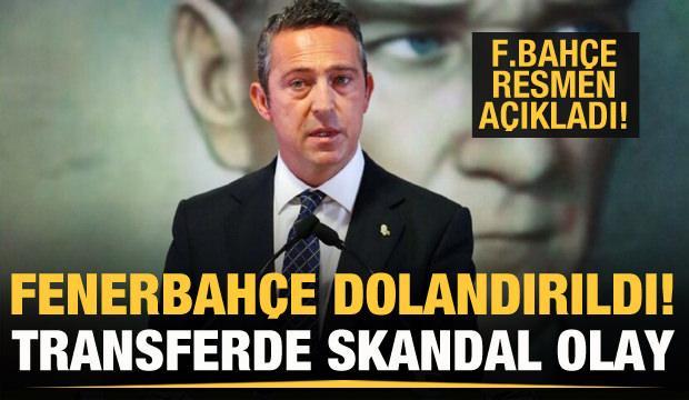 Fenerbahçe dolandırıldı! Kulüpten açıklama!