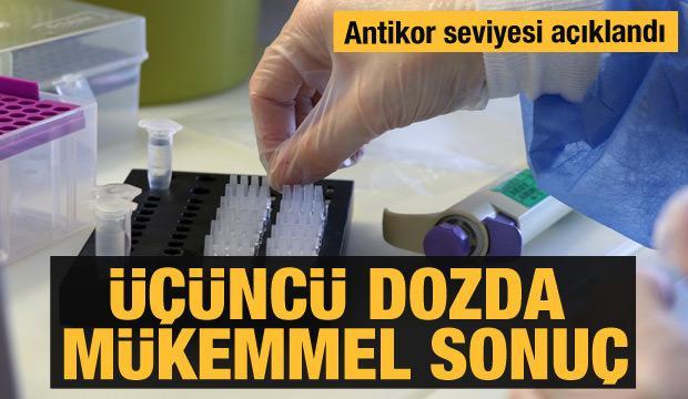 Türkiye'de üçüncü doz aşı araştırma sonuçları açıklandı