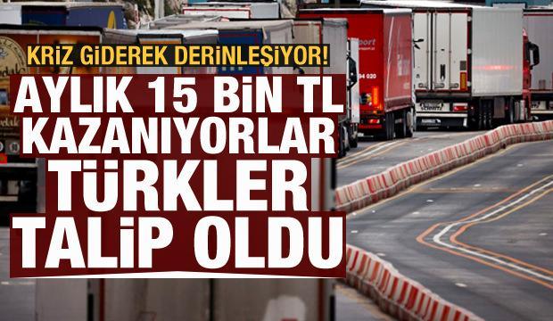 Aylık 15 bin lira kazanıyorlar! Avrupa'daki krizi Türkler çözecek