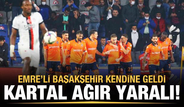 Emre'li Başakşehir, Beşiktaş'ı yıktı!