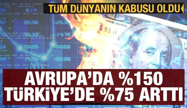 Tüm dünyanın kabusu oldu! Elektrik Avrupa'da yüzde 150, Türkiye'de yüzde 75 arttı