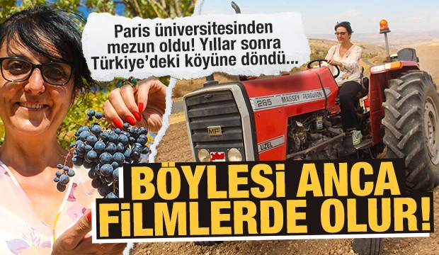 Fransa'da en iyi fakültede doktora yaptı, köyüne dönüp tarıma başladı...