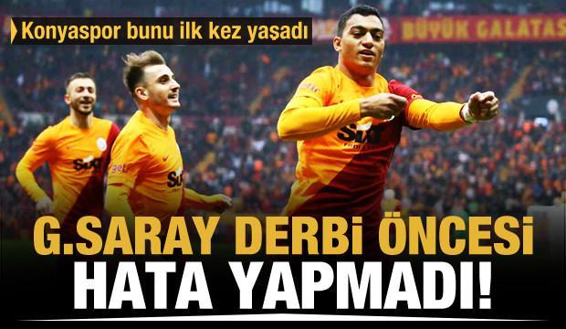 Galatasaray derbi öncesi hata yapmadı!
