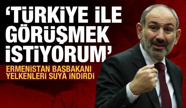 Paşinyan'dan Türkiye açıklaması: Görüşmeye hazırım