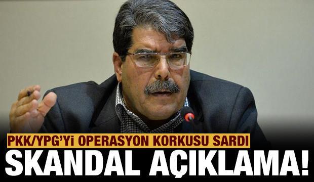 PKK/YPG'yi operasyon korkusu sardı: Terörist Salih Müslim'den skandal açıklama