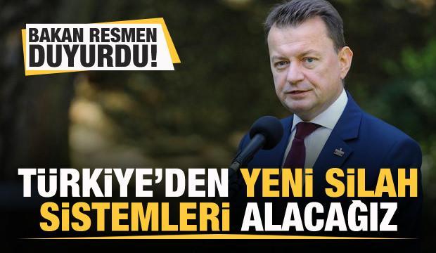 Resmen açıklandı: Türkiye'den yeni silah sistemleri alacağız