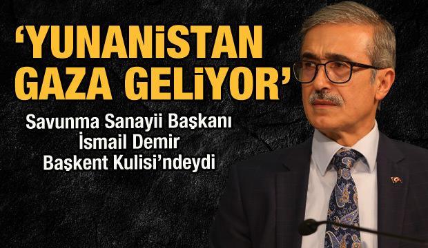Savunma Sanayii Başkanı Demir Başkent Kulisi'ne konuk oldu